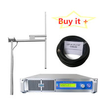 NEW light-weight 1KW FM  Broadcast Transmitter for radio stations