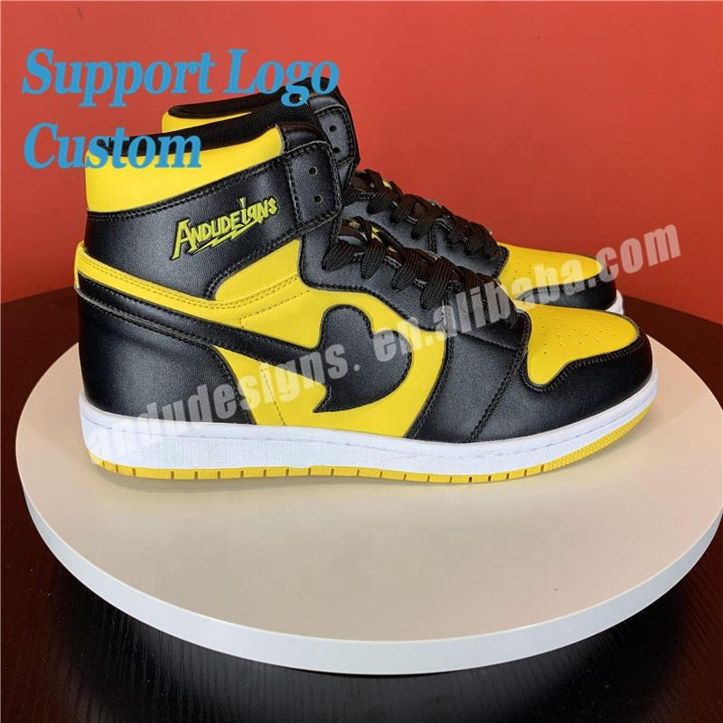 Wholesale Men Sneakers Custom High Quality Design Brand Sport Shoes 1 Retro Chicago Casual Basketball Shoes