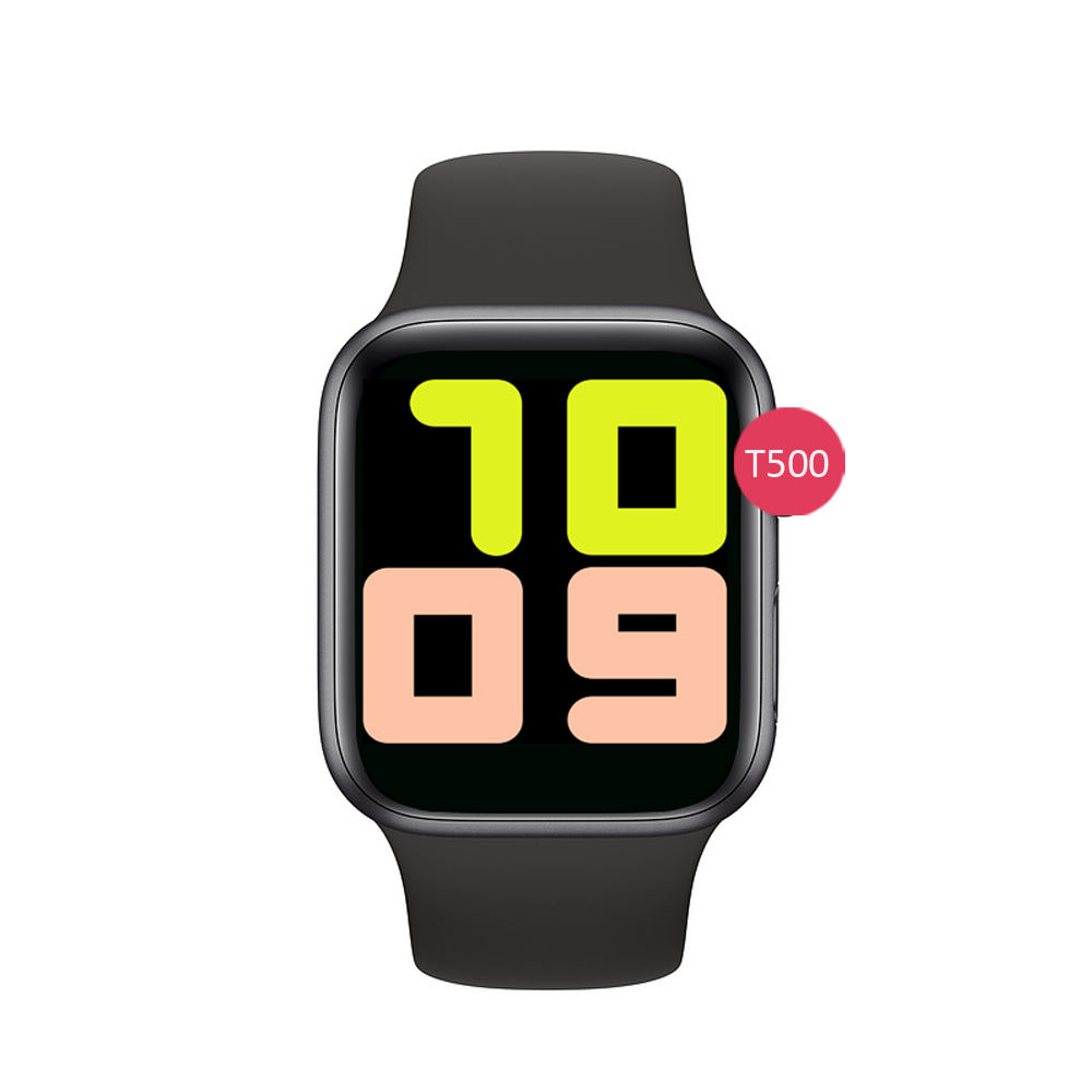 Smart Watch T500 2020 BT Call Heart Rate Blood Pressure Wrist Smartwatch For AndroidとIOS