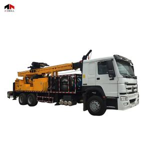 Truck Mounted Hydraulic Deep Hole Borehole Water Well Drilling Machine