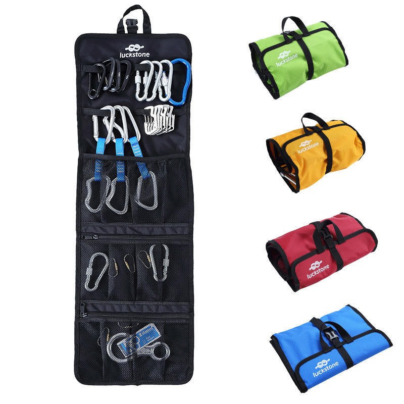 Waterdichte Karabijnhaak Gear Toolkit Organizer Rock Klimmen Opbergzakken Carrying Organisator Outdoor Apparatuur