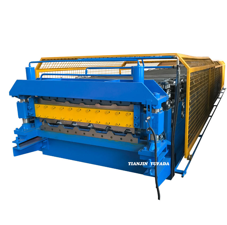 Cheap Factory Price two heads roll forming machine