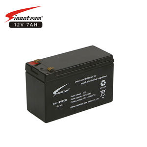Group UPS Anti-theft alarm Rechargeable AGM Battery 12Ah 12V Hermetic