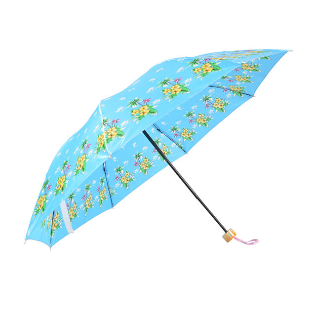market umbrella Cheapest customized print manual open 8 ribs Stain Umbrella