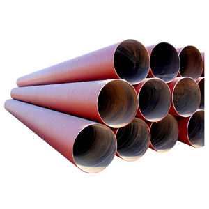 3PE epoxy coating SSAW spiral welded low carbon steel pipe for gas and oil transport