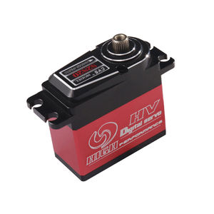 Full Aluminum Case Standard Size RC Digital Servo Applied in Airplane Car High Speed Titanium Gear Waterproof Coreless Motor