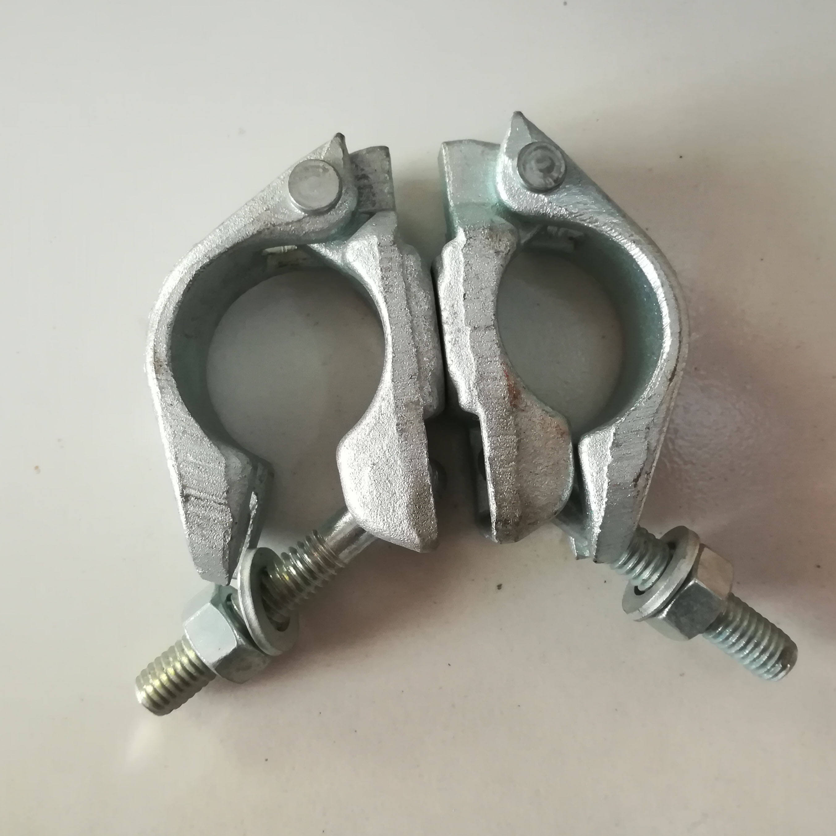 EN74 BS1139 STANDARD carbon steel scaffolding forged swivel clamp