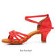 four season medium high heel girl dance shoes New soft soled Latin dance shoes female adult