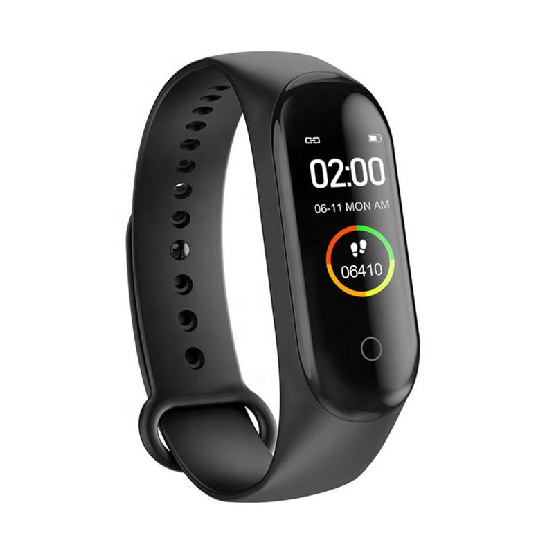 M4 Band 4 Fitness Tracker 0.96 OLED Display Heart Rate Monitor Waterproof Bracelet Activity Tracker Weather Forecast Smart Watch