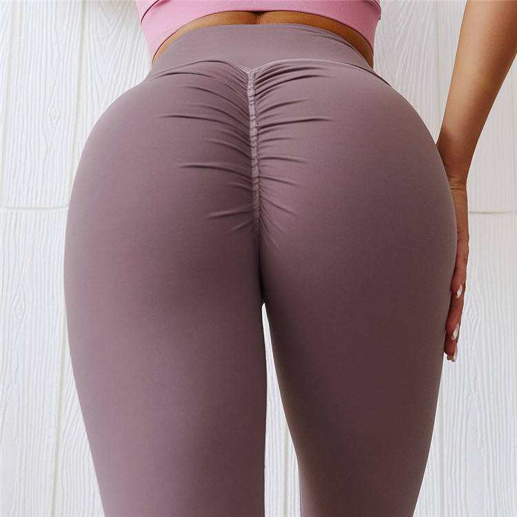 Hoge Waisted Workout Fitness Leggings Vrouwen Scrunch Leggings Sexy Voorraad