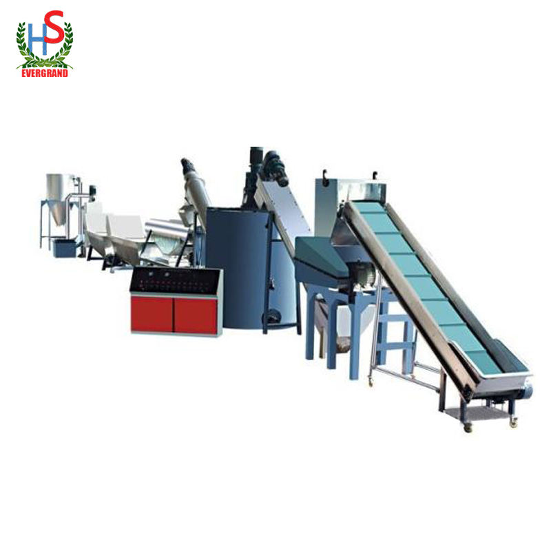PET bottle/flakes washing/recycling/crushing/drying line/machine