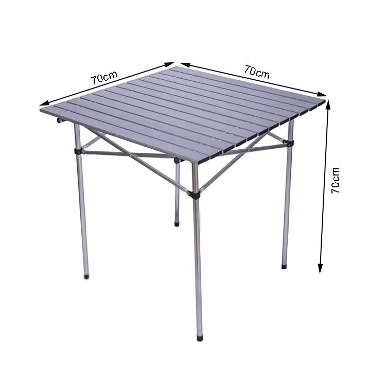 high quality portable collapsible folding picnic outdoor BBQ rolling camping table