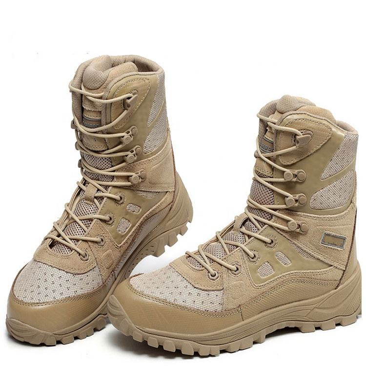 China Desert Militaire Tactical Combat Jungle Schoenen Leger Laarzen Met Rits