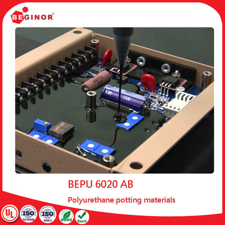 ab pu glue waterproof electronic potting polyurethane