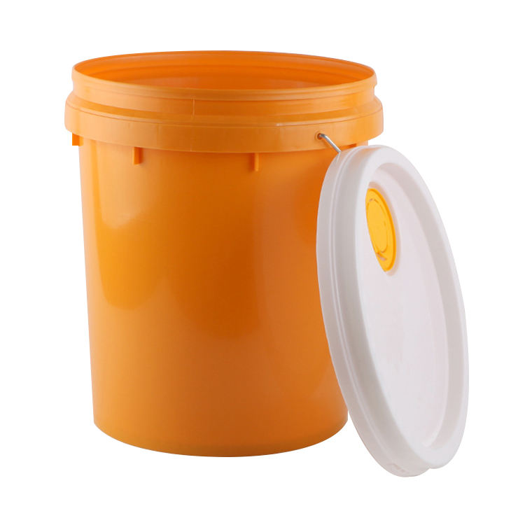 Cheap 7 gallon 30 liter pail drum plastic buckets with lids