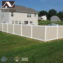 High Strength Cheap Elegant PVC Privacy Fence Fence Wall