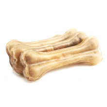 Nutrition supplement 4 5 6 inch wear-resistant health teeth natural rawhide pressed bone pet chew food dog snack