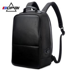 Anti cutting usb charger backpack business men daily work laptop backpack anti theft pocket antitheft backpack