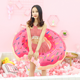 New Arrivals Adults And Kids Family Fun Fitness Water Sport Inflatable Donut Swimming Ring