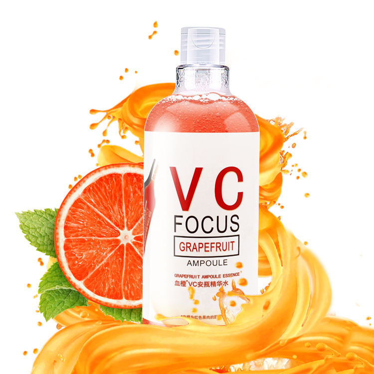 Newly VC focus grapefruit ampoule essence vitamin c face serum with hyaluronic