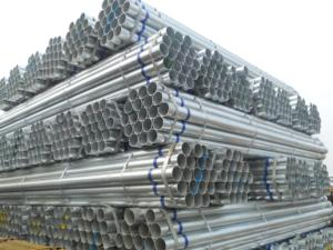 Greehouse 1 1/2 2.5 inch hot pre galvanized welded thin wall steel water scaffolding pipe price list philippines