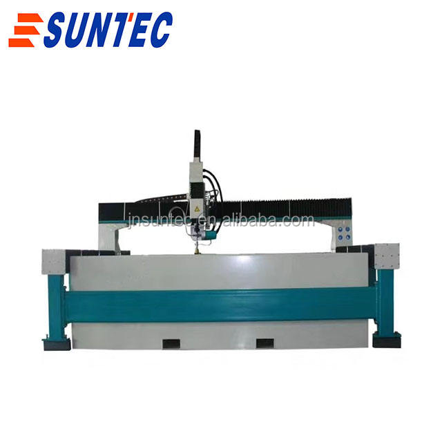heavy duty double head high pressure NC control customized 5 axis cnc water jet cutting machine