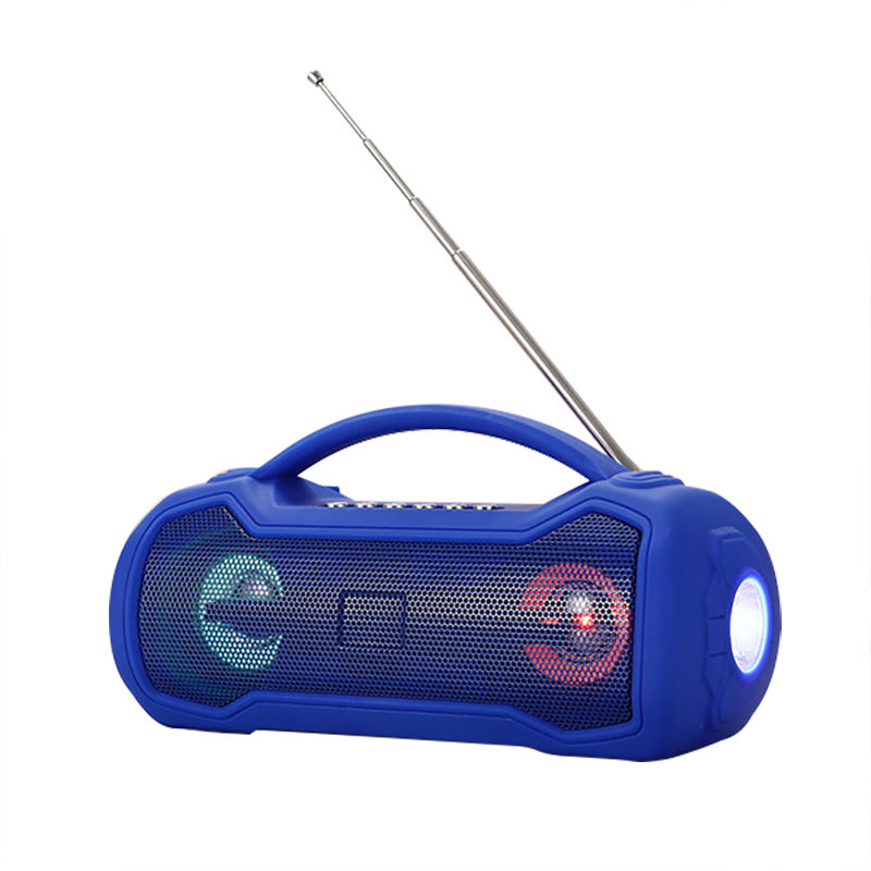 Stereo subwoofer wiederaufladbare outdoor fm radio usb-anschluss super bass boombox party wireless karaoke mini drahtlose tragbare lautsprecher