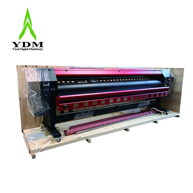 3.2 M Larger format UV Roll To Roll Printer 3d wallpaper printing machine