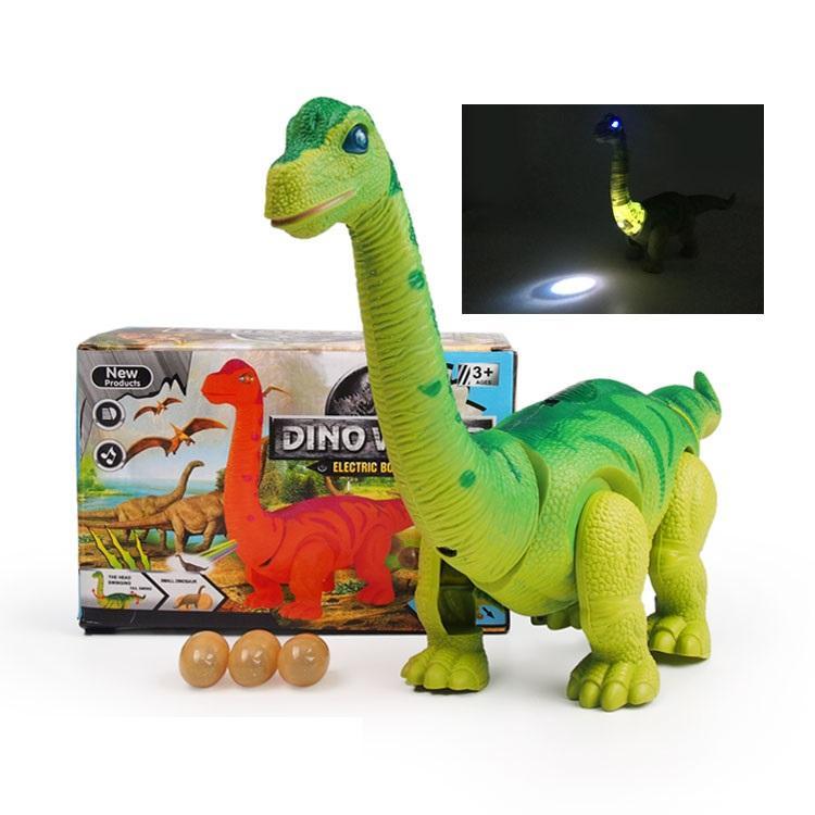 Nueva Batería Operado Diplodocus//huevo de dinosaurio