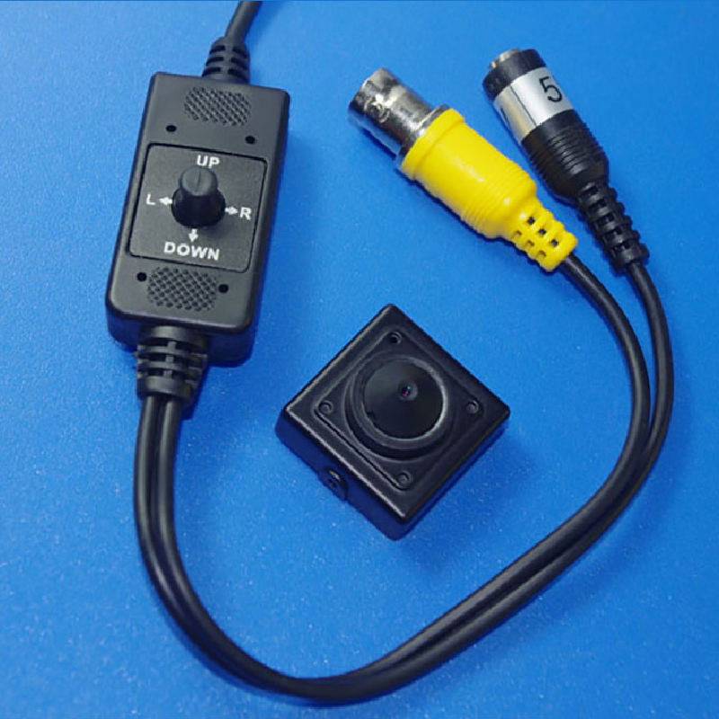 PAL Format 700TVL 5V Low Light Color Miniature CCD Video Camera
