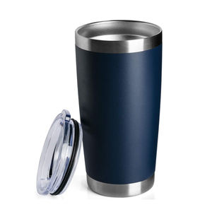Stainless Steel Double Wall 20OZ Custom Travel Mug Insulated Tumbler Cup with Lid