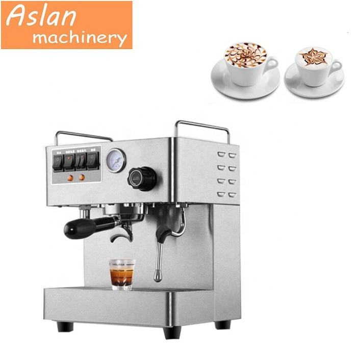 2020 coffee roasting machine /Semi-automatic italy cappuccino coffee machine /Steam knob italian style coffee