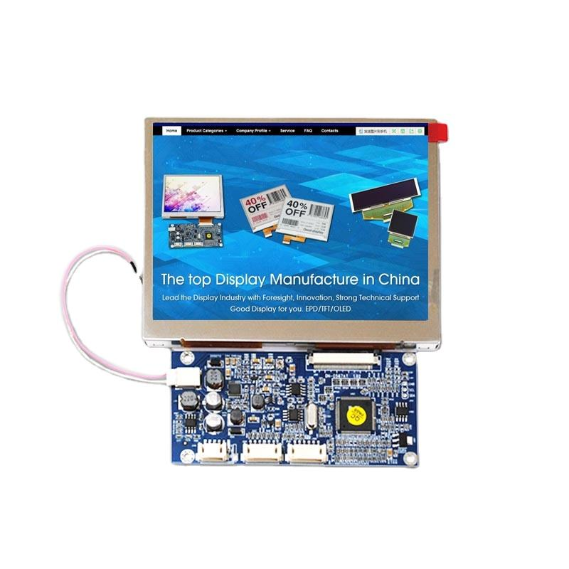 goodisplay small 5 inch tft 5.6 inch lcd screen module high brightness
