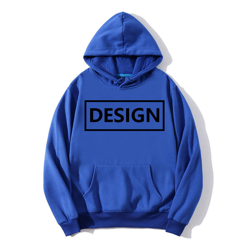 loose plus size hoodies wholesale Cotton men's hoodies custom embroider sweaters Custom logo printed hoodies cheap mens sweater