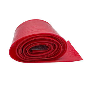 Red Flexible PVC transparent layflat hose, Used to protect inner tubes layflat hose