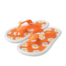Fashion Candy Colors Women Flip Flop Daisy Design Women Slippers Flip Flop