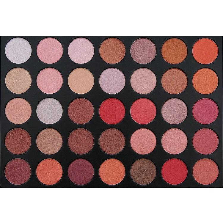 Banfi Di Saham 35 Warna Eyeshadow Eye Shadow Palet Shimmer Matte Eye Shadow Pro Mata Makeup Kosmetik Kualitas Terbaik
