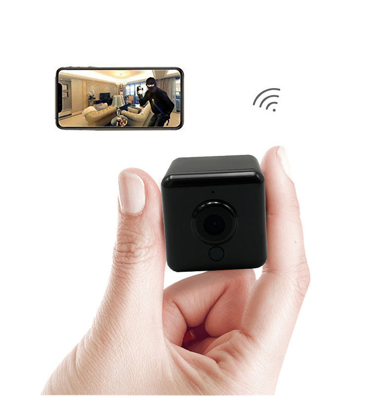 Mini Size Indoor Security WiFi Online Video Recording CCTV Wireless IR IP Spy Very Hidden Small Camera for Sale