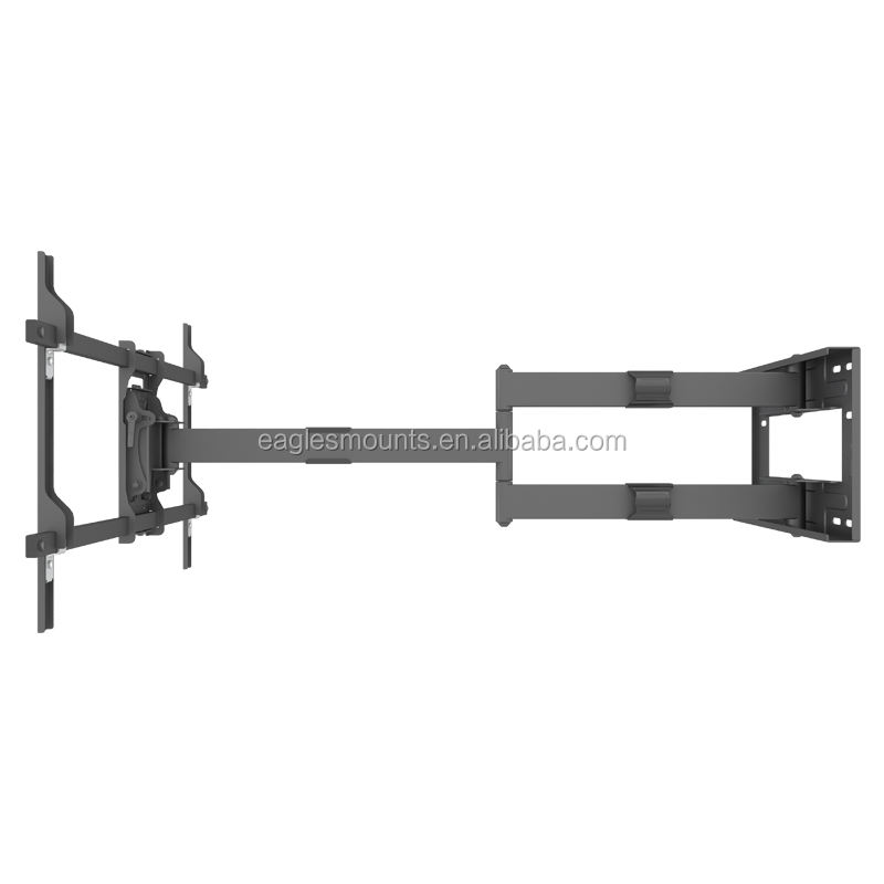 Super Lange Extension Arm Swivel Wall Mount Tilt <span class=keywords><strong>TV</strong></span> Beugel Met 50 kg Max <span class=keywords><strong>Belasting</strong></span>