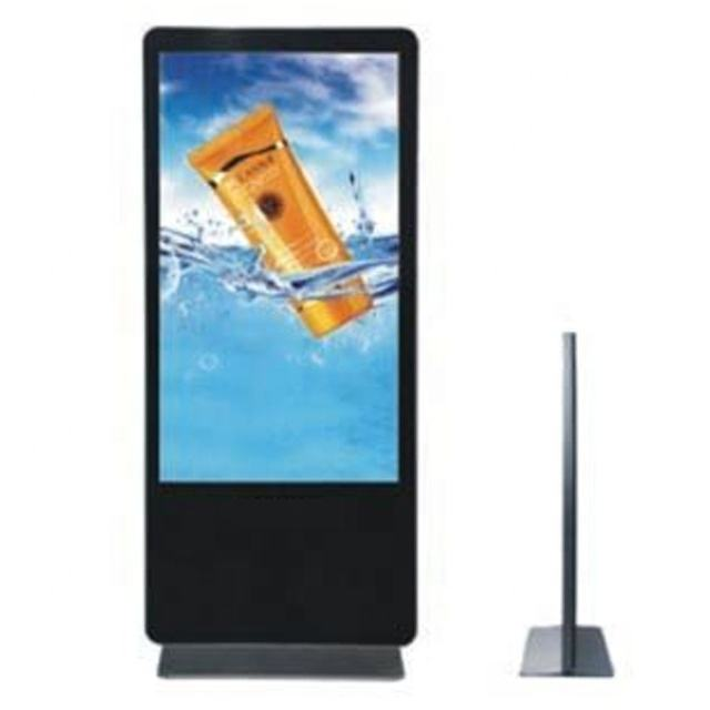 large android display digital signage totem wifi media player