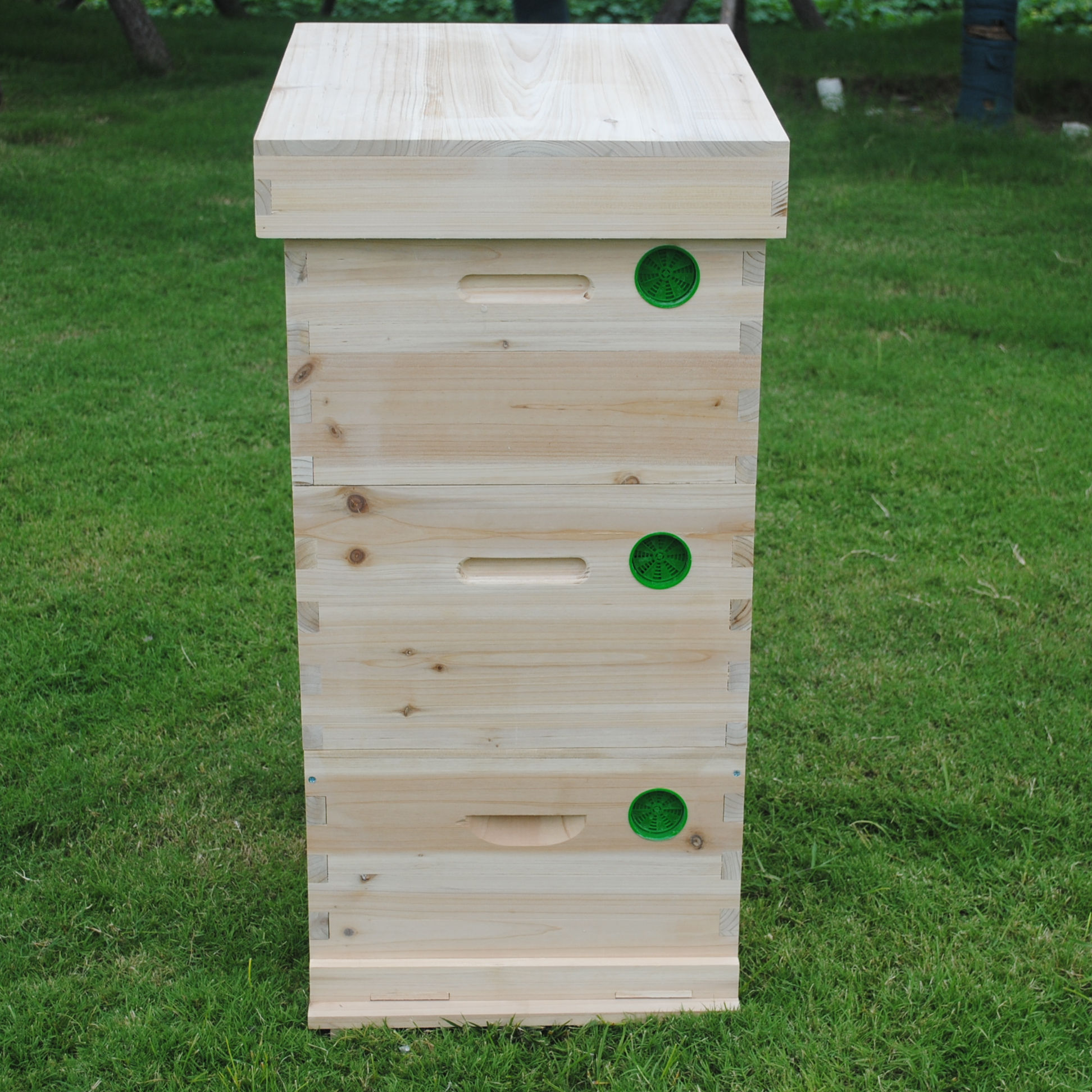 2019 Pine wood box beehive langstroth bee hive 2/3 layers
