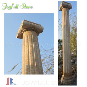 Granite Stone Gate Pillar Design