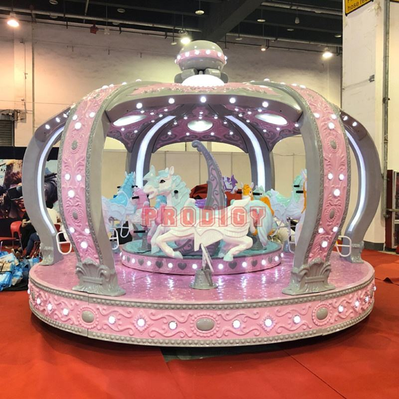 Playgrounds for mall entertainment merry go round equipment kids amusement rides carousel for sale