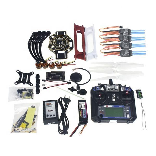 Ensemble complet RC Drone Quadricoptère 4 axes Avion Kit F450-V2 Cadre GPS APM2.8 <span class=keywords><strong>de</strong></span> Commande <span class=keywords><strong>de</strong></span> <span class=keywords><strong>Vol</strong></span>