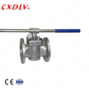 Carbon Steel ANSI Manual Inverted Pressure Balance Lubricated Plug Valve