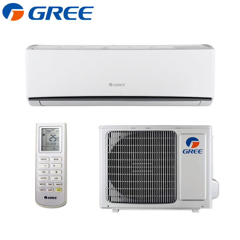 GREE New Smart Life wall-mounted Mini Turbo Cooling Sleep mode Auto clean inverter split Air Conditioner