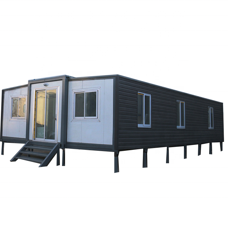 Prefabricated 40ft folding expandable luxury container house and container home