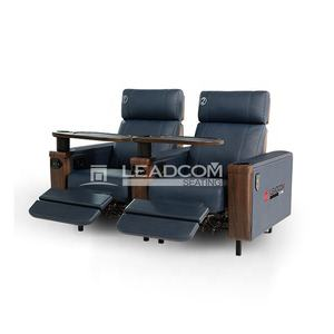 LEADCOM luxury leather electric cinema reclining sofa  LS-813B