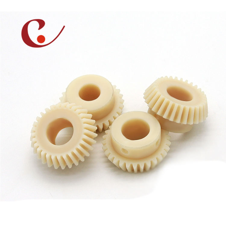 Custom nylon plastic bevel gears/nylon spiral bevel gear