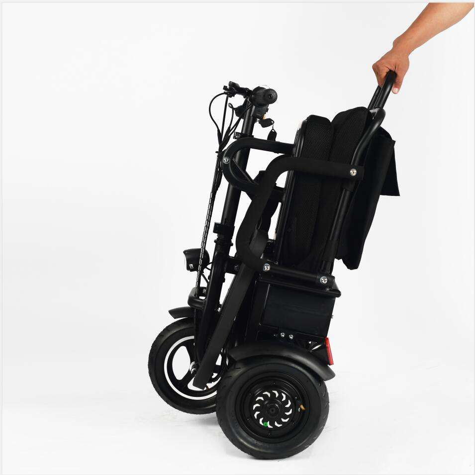 portable lightweight folding three four wheels disabled electric mobility scooter for Adult